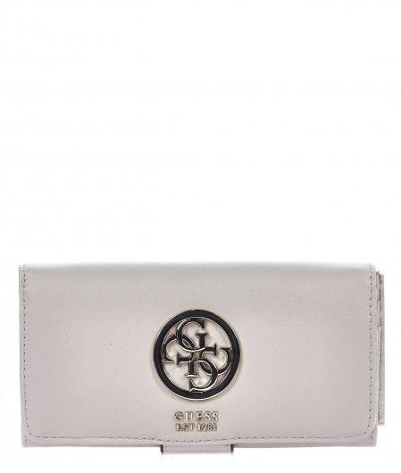 Guess Portemonnaie mit Logo Altrosa