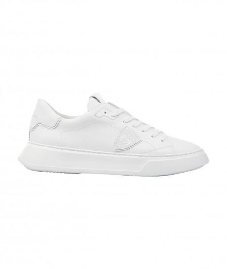 "Philippe Model Sneaker ""TEMPLE LOW"" Weiß"