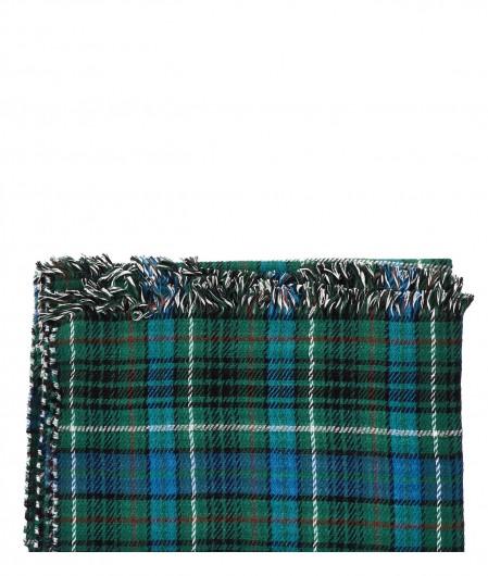 Altea Sciarpa a quadri in misto lana verde