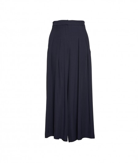 Otto d'ame Palazzo trousers navy
