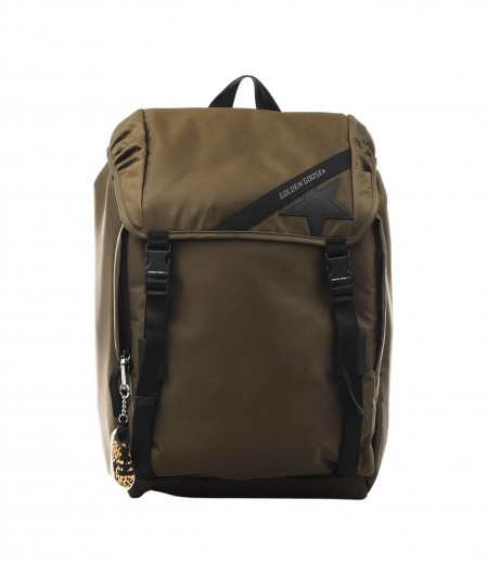Golden Goose Journey Backpack olive