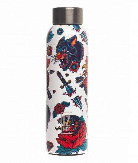 """Izmee Water bottle """"Wild ink"""" multicoloured"""