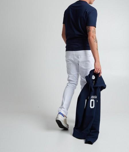Dsquared2 T-Shirt mit Logoschriftzug Blau