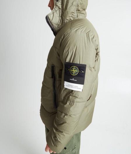 "Stone Island Jacke ""Garment Dyed Crinkle Reps NY Down"" Grün"