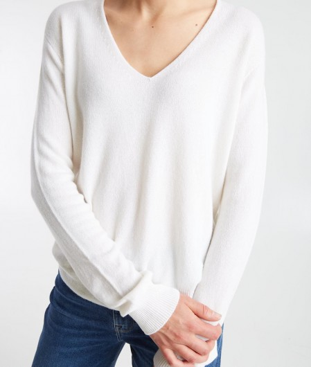 MVM Cashmere sweater creme