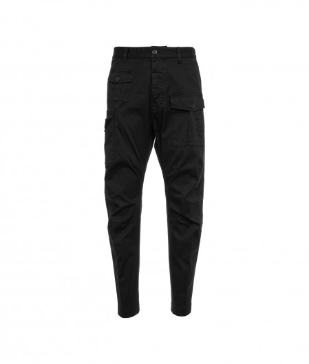 Dsquared2 Sexy Cargo Fit pants black