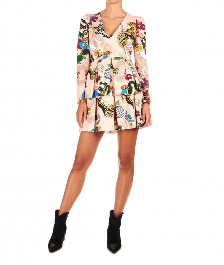 "Aniye By Printed mini dress ""Roller"" rose"