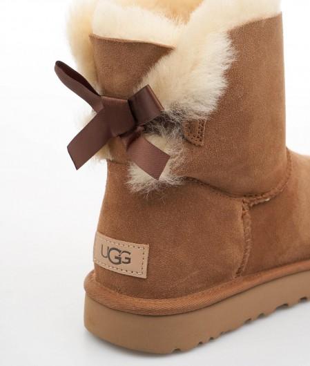 "UGG  Boots ""Mini Bailey Bow"" brown"