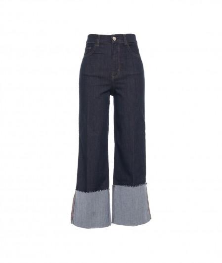 "Liu Jo Jeans Jeans ""High Flare Flap"" Blau"