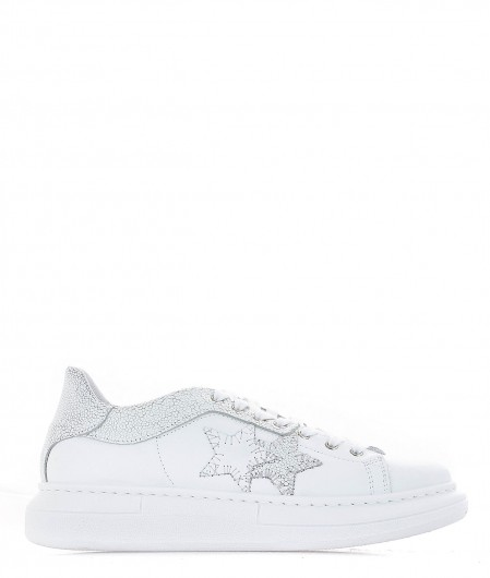 2 Star Leather sneaker white