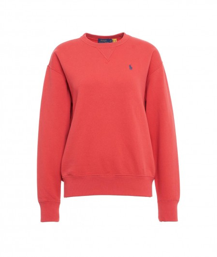 Polo Ralph Lauren Sweater with logo embroidery red