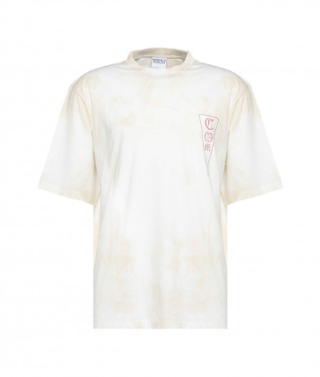 Marcelo Burlon Tie&Dye Over T-Shirt Creme