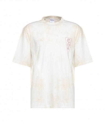 Marcelo Burlon Tie&Dye Over T-Shirt creme