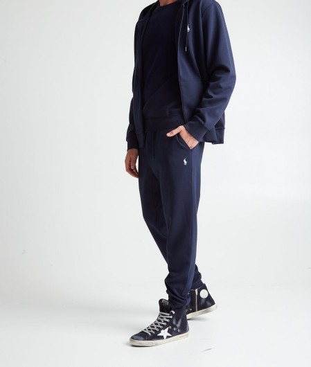 Polo Ralph Lauren Knit sweater with logo embroidery navy