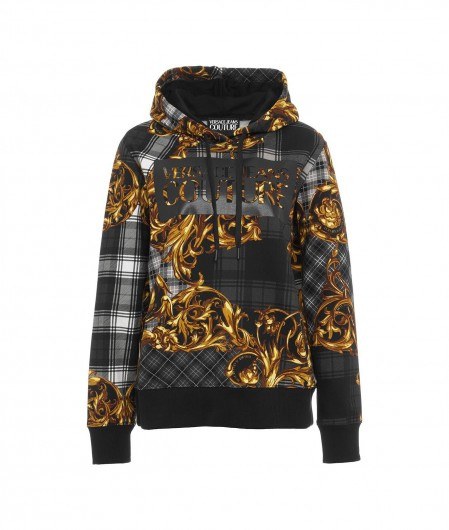 Versace Jeans Couture Hoodie mit Highland Print Gold