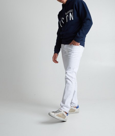 Dsquared2 Icon hoodie navy