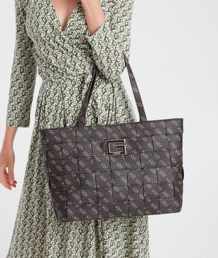 "Guess Handbag ""Liberty City"" dark brown"