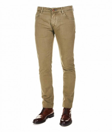 """Hand Picked Slim fit jeans """"Orvieto"""" olive"""