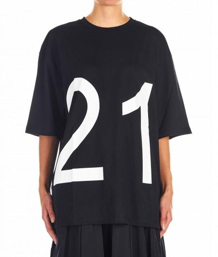 N°21 Oversized T-Shirt black
