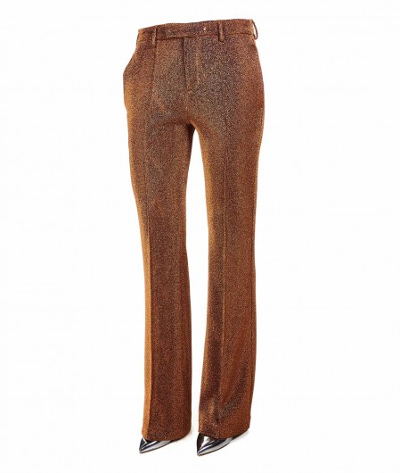 Department 5 Lurex trousers copper