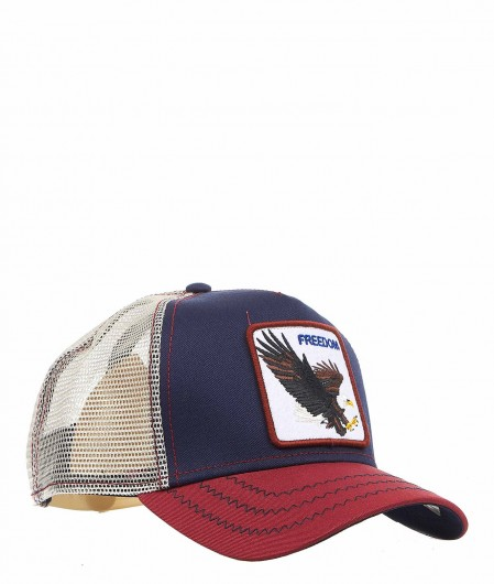"Goorin Bros Baseball Cap ""Freedom"" Dunkelblau"