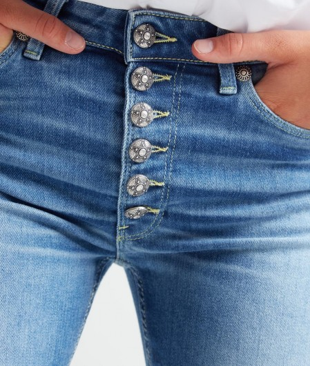 "Dondup Jeans ""Iris Bot Gioiello"" Blau"