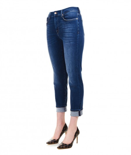 7 for all mankind Relaxed skinny jeans navy