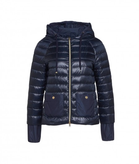 Herno Quilted jacket blue