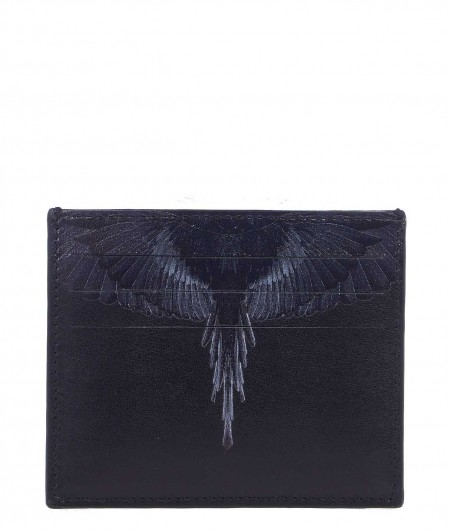 "Marcelo Burlon Card holder ""Black Wings"" black"