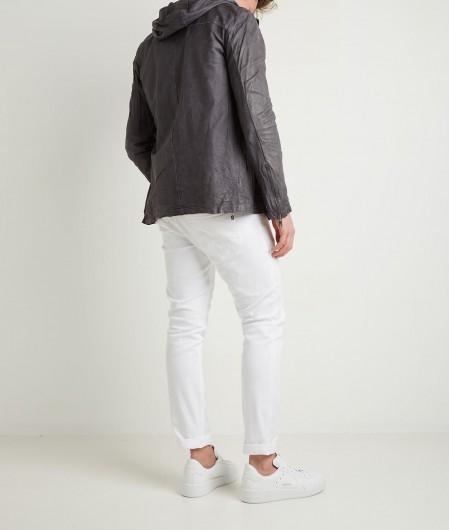 Giorgio Brato Light leather jacket gray