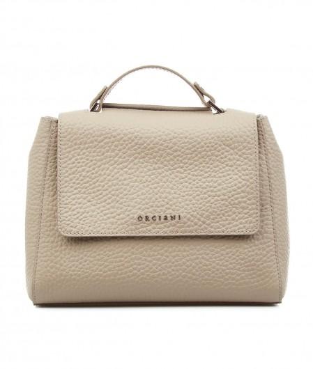 Orciani Mini handbag nappa leather beige