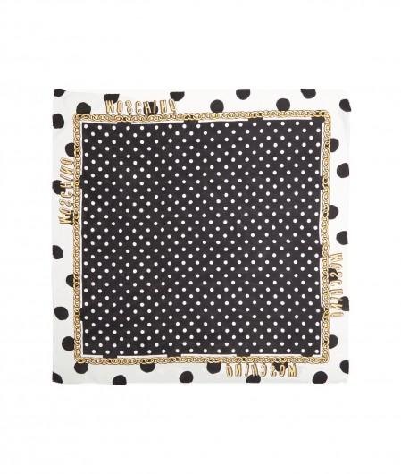 Moschino Foulard polka dots black