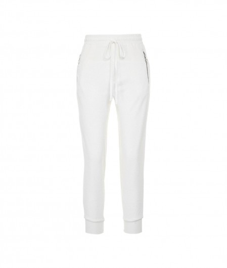 Thom Krom Joggers in textile mix white