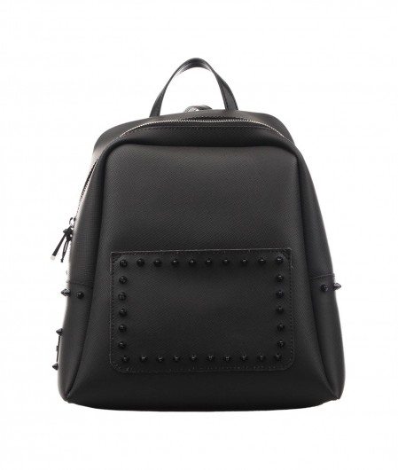 Gum  Backpack with stud applications black