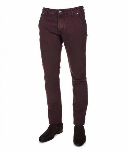 Jacob Cohen Chino-style jeans bordeaux