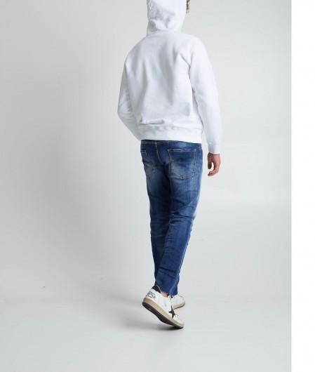 Dsquared2 Hoodie mit Logoschriftzug Weiß