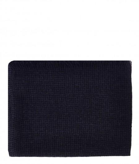 Destin Checked scarf navy