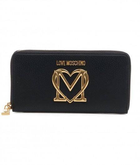 Love Moschino Portemonnaie mit Logo Schwarz
