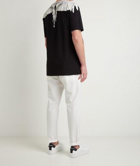 "Marcelo Burlon T-Shirt ""Wings Regular"" Schwarz"