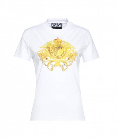 Versace Jeans Couture Jersey T-Shirt Weiß