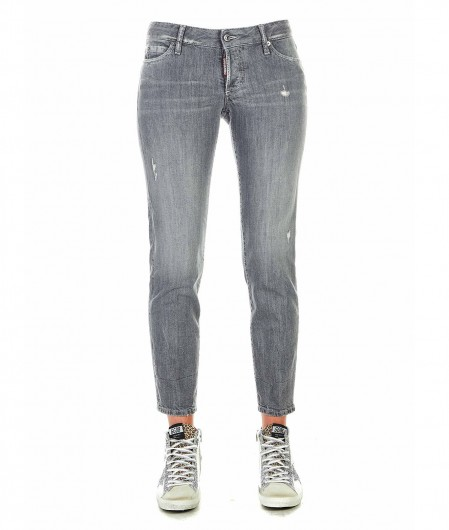 "Dsquared2 Jeans ""Jennifer cropped"" Grau"