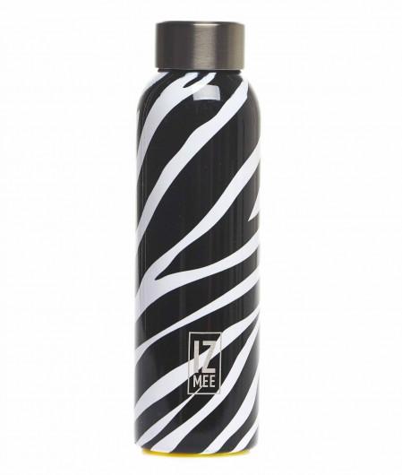 """Izmee Water bottle """"Wild life"""" black"""