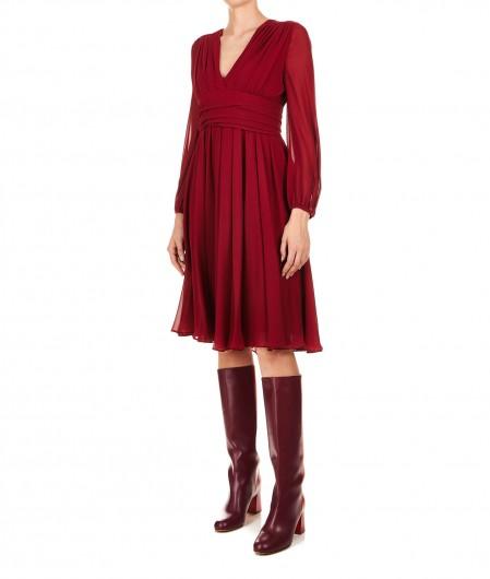 "Max Mara Silk dress ""Campos"" bordeaux"