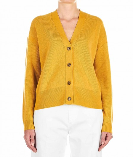 Closed Wool blend cardigan mustard