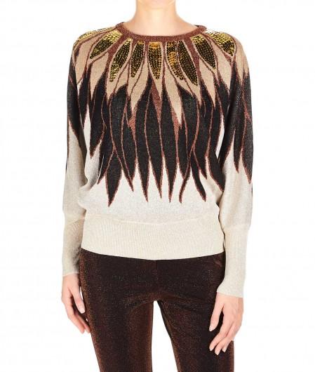 Aniye By Kimono Sweater Plumette Gold