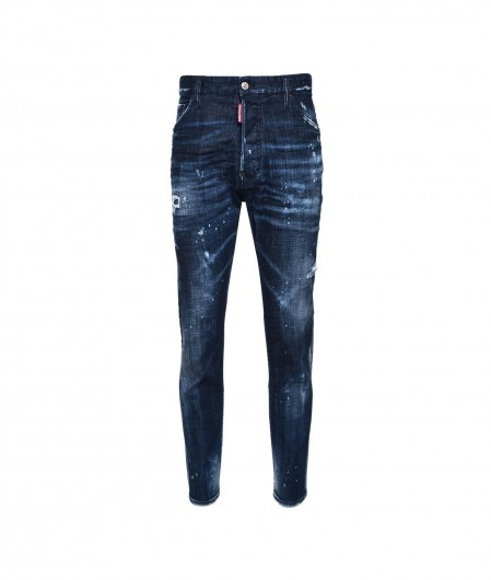 Dsquared2 Relax Long Crotch Jean Blau