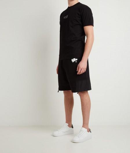 Dsquared2 T-Shirt mit Logoschriftzug Schwarz