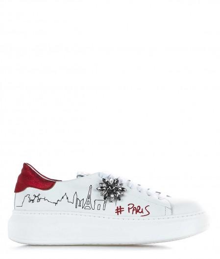 """Gio+ Sneaker """"Paris"""" white"""