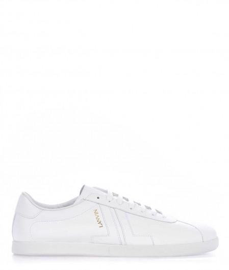 Lanvin Ledersneaker Weiß