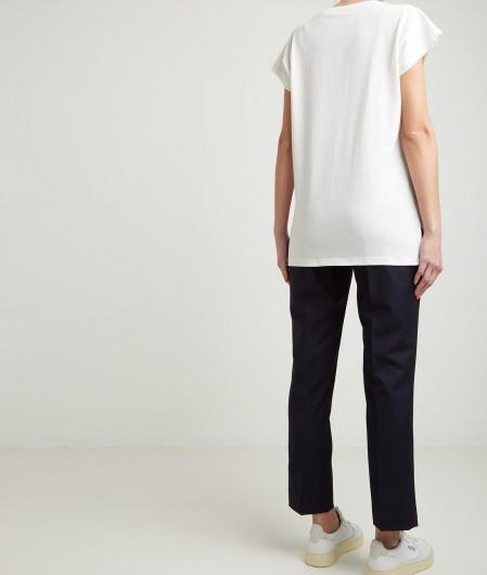 Kaos T-Shirt mit Nieten Schwarz